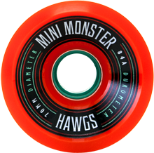 Hawgs Longboard Wheels Mini Monsters 70mm 84a Orange