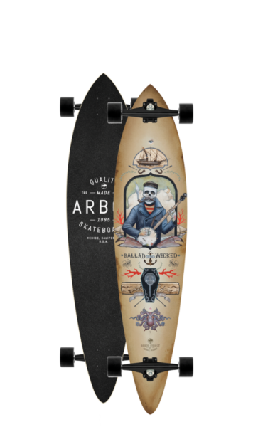 Arbor Longboard Complete Fish GT