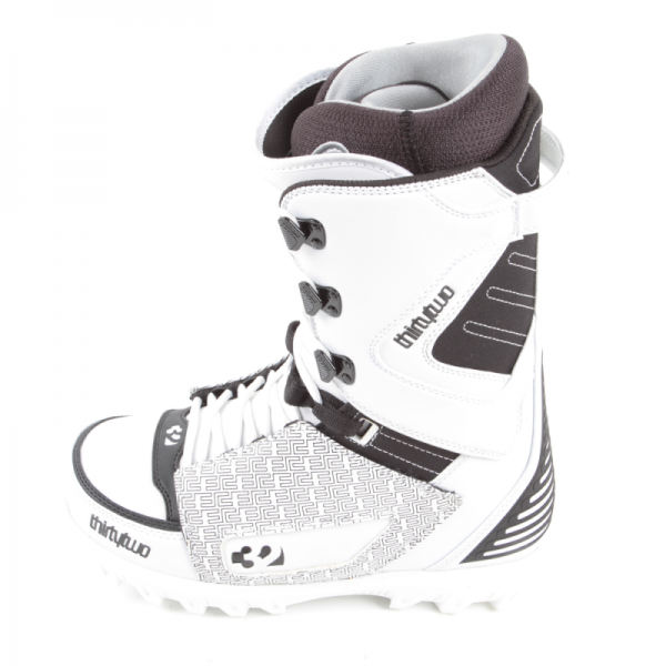 Thirtytwo Boots Lashed white/black