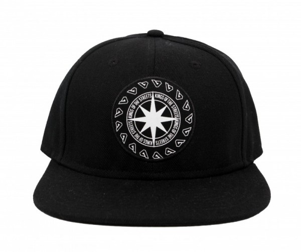 Basique Snapback Compas - Black