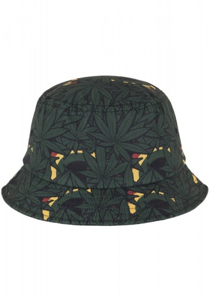 Rasta Leafs Bucket Hat