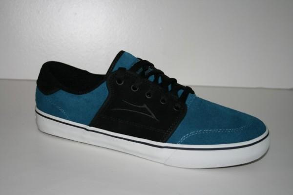 Lakai Schuhe Carlo black blue suede